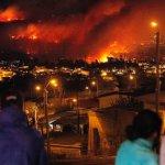 智利森林大火 撤離5000居民
