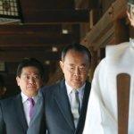 歐巴馬造訪前 日147議員拜靖國神社