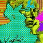 安迪沃荷也玩電腦 30年前數位作品亮相