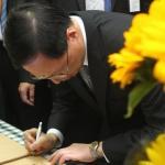 林義雄停止禁食 政院:朝野理性解決爭端