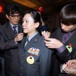將官晉升典禮 馬總統:3軍6校都是女性是第1名