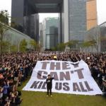 香港大團結 反暴力衛自由
