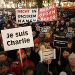 拒絕散播仇恨 德國多處遊行聲援《查理周刊》