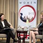 蔡英文:女性領袖展現帶領新時代的能力
