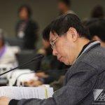 藏頭文宣傳罷免蔡正元 柯文哲恐將遭罰100萬元