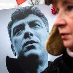 紀念俄國反對派領袖 莫斯科萬人遊行