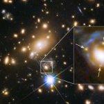 「愛因斯坦十字」重現90億年前超新星爆炸