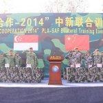 台替星訓練陸軍 交換中國南海艦隊情報