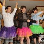 男立委穿裙代言《陰道獨白》 籲終止性別暴力