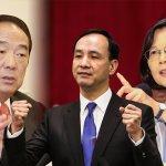 思為策略》選戰倒數1.5月:總統候選人社群支持度蔡跌朱升
