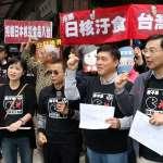 日本核災食品解禁公投,國民團與民團鬧三胞