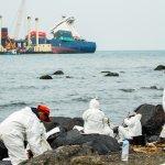 德翔台北貨輪漏油 環署:已大幅改善