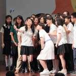 北一女學生抗議禁穿短褲進出校門 蔡英文:我支持妳啦!