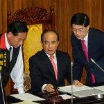 朱敬一專欄:內閣看守,立法與預算不必看守?