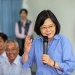 台北市公宅政策爭議 蔡英文:執政後會提供支援