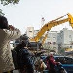 台北市中正忠孝橋引橋拆除工程 目前進度大幅超前