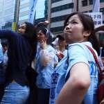 7項承諾5項跳票 數百空服再赴華航抗議
