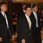 晤美參議員,馬英九:三總統參選人都支持維持現狀