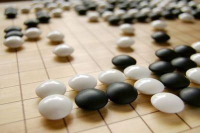 圍棋期局,圖片來源:Kendrick on flickr / http://goo.gl/zsbh27