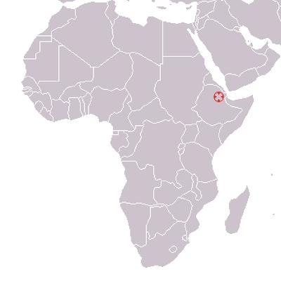 哈達爾位置圖。