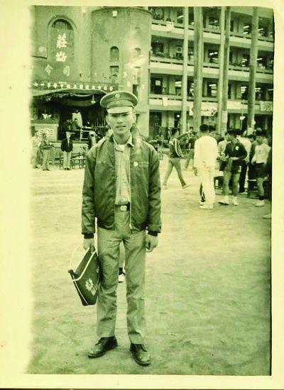 就讀建國中學時期,1971