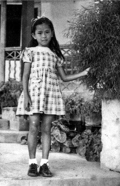 翁山蘇姬  6歲。
