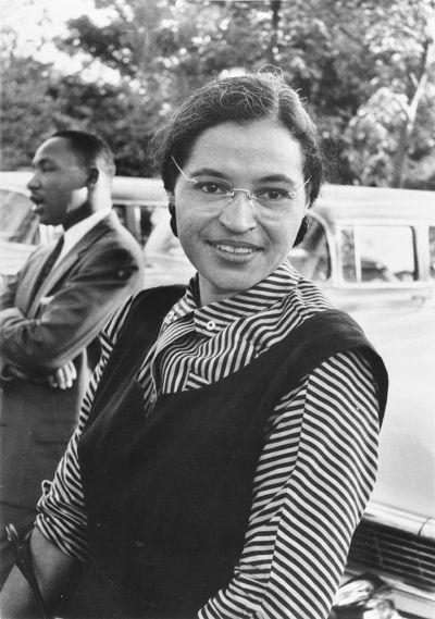 「現代民權運動之母」羅莎帕克斯。(維基百科)