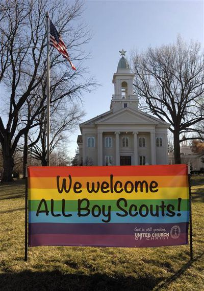 美國童軍改變立場,允許同性戀者加入。