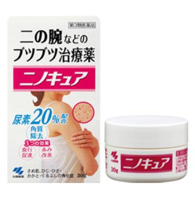 改善皮膚紅疹的「ニノキュア」。(小林製藥官方網站)
