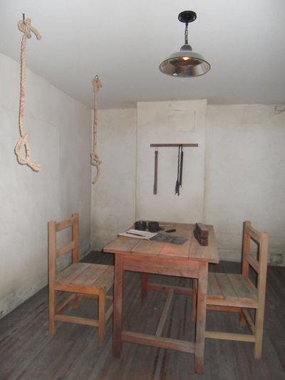 西大門刑務所內的拷問室。(西大門刑務所歷史館官方網站)