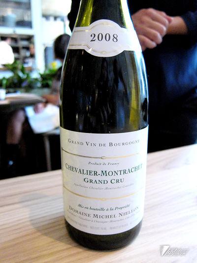 品嘗2008 Domaine Michel Niellon Chevalier-Montrachet頂級園白酒