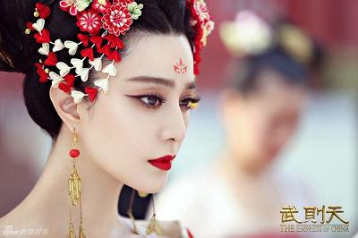范冰冰個人工作室所拍攝《武媚娘傳奇》收視刷新中國電視劇記錄。(取自 武媚娘傳奇劇照)
