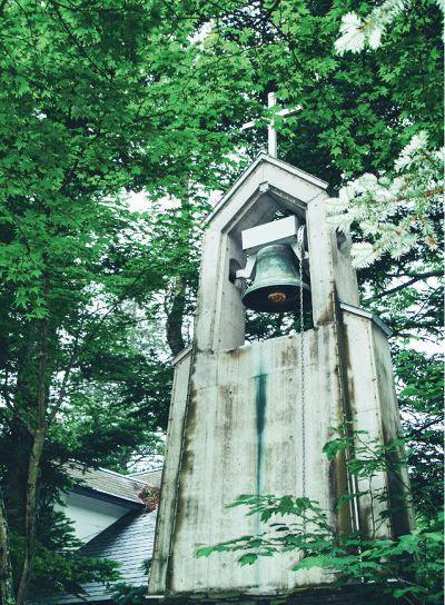 輕井澤的教堂也是一大參觀重點。