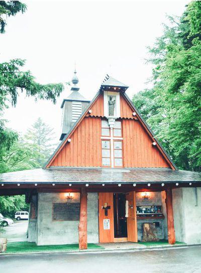 聖保羅教會由木頭和水泥兩種素材所建,風格獨特。