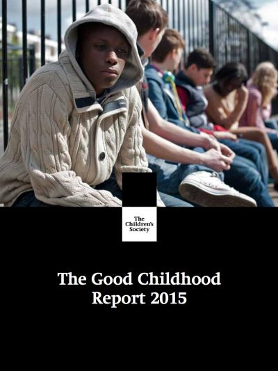 英國兒童協會年度報告封面。(翻攝官網)