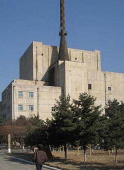 寧邊核設施的外觀。(維基百科)