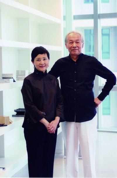 嚴筱良女士(左)與林壽宇先生(右)。圖/嚴筱良女士