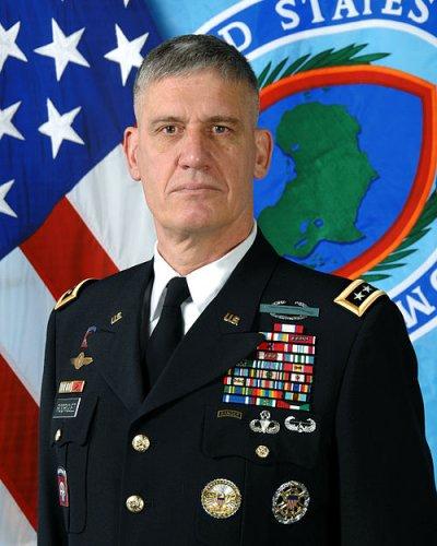 美軍非洲司令部 司令羅德里格斯。