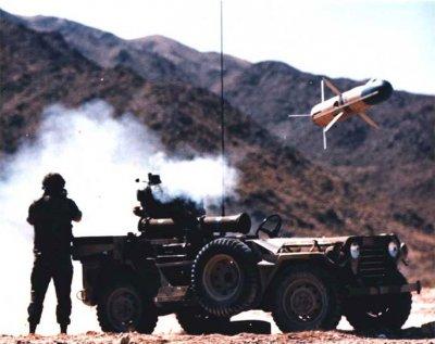 拖式飛彈。(維基百科)