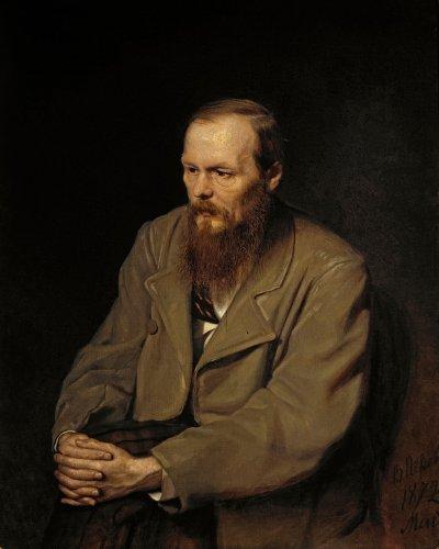 俄國文豪杜斯妥也夫斯基。