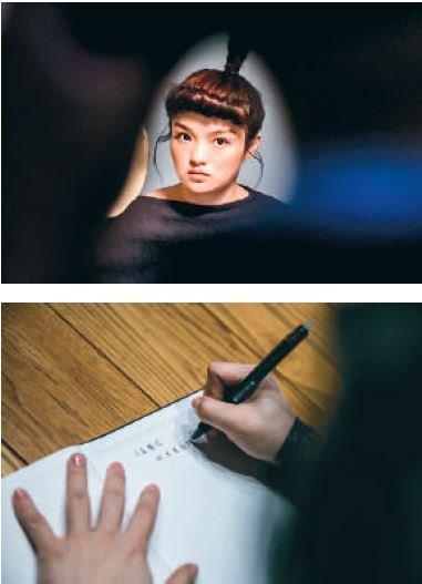 (上)透過音樂與影像,一起窺看徐佳瑩的日全蝕 (下)平日空檔的隨手筆記,都是創作的靈感來源。