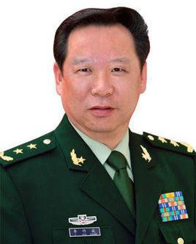 陸軍司令員李作成