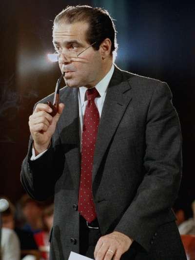 美國聯邦最高法院大法官史卡利亞。(美聯社)
