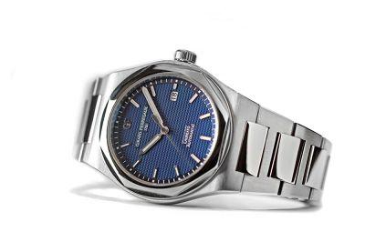 GP芝柏表Laureato復刻腕錶,以優雅姿態結合運動風格盛勢回歸。(圖/GP芝柏表提供)