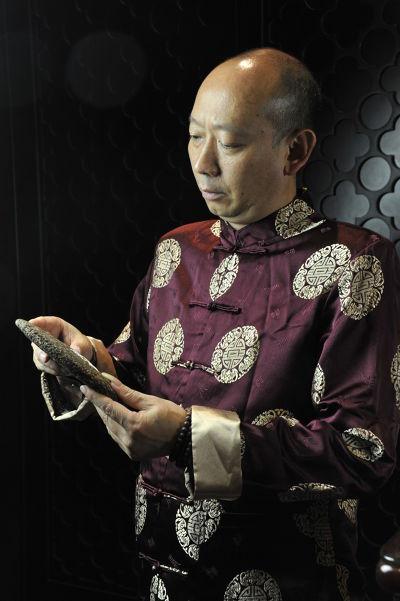 前茶科所所長慶陽茶廠張俊2013年以生產履歷、倉儲履歷、收藏履歷的定義(圖/作者提供)