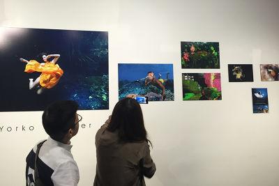 透過APP將Yorko的靜態攝影作品與動態影片結合。(圖/Yorko Summer提供)