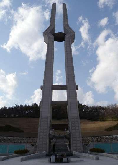 光州事件紀念塔(維基百科)