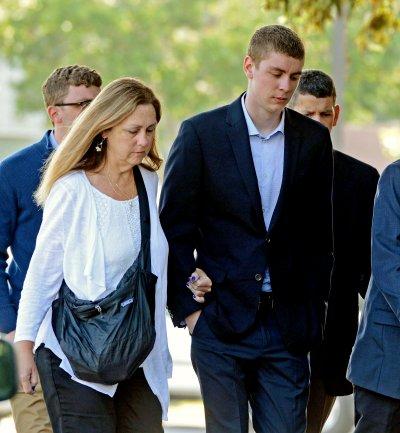 美國史丹福大學性侵案被告Brock Turner(美聯社)