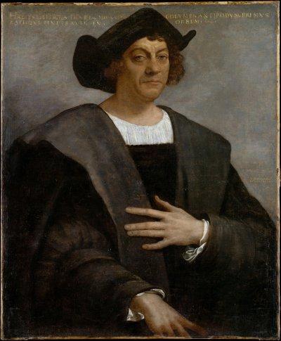 哥倫布開尋找新航線,開啟了歐洲殖民全盛時期。(圖/維基百科)