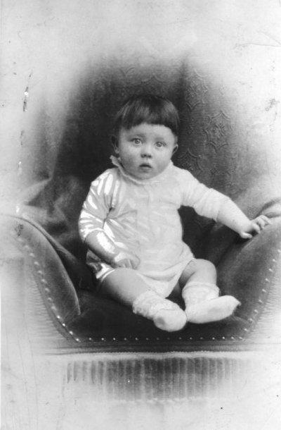 希特勒童年。(圖/維基百科公有領域)